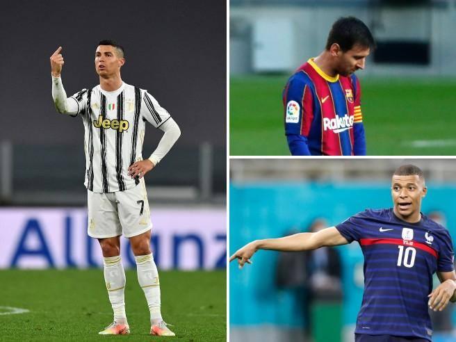 Ronaldo Messi Mbappè 656x492