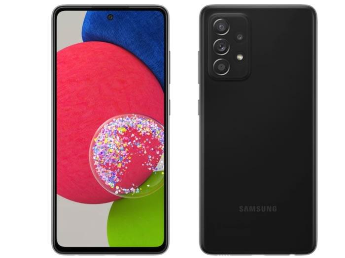 Samsung svela lo smartphone Galaxy A52s