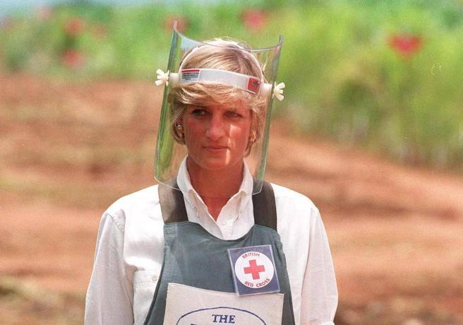 Diana che camminava fra le mine