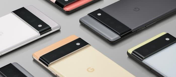 Pixel 6 e Pixel 6 Pro svelati in anteprima da Google