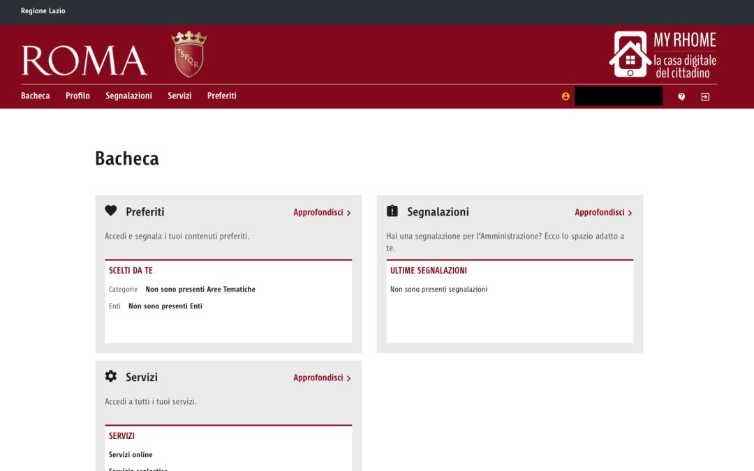E-governement, a Roma online la Casa digitale del cittadino