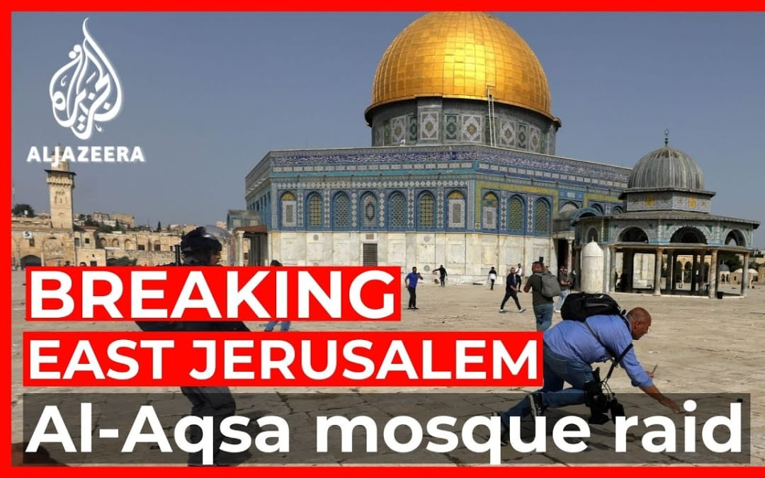 Dozens wounded as Israeli forces raid Al-Aqsa compound