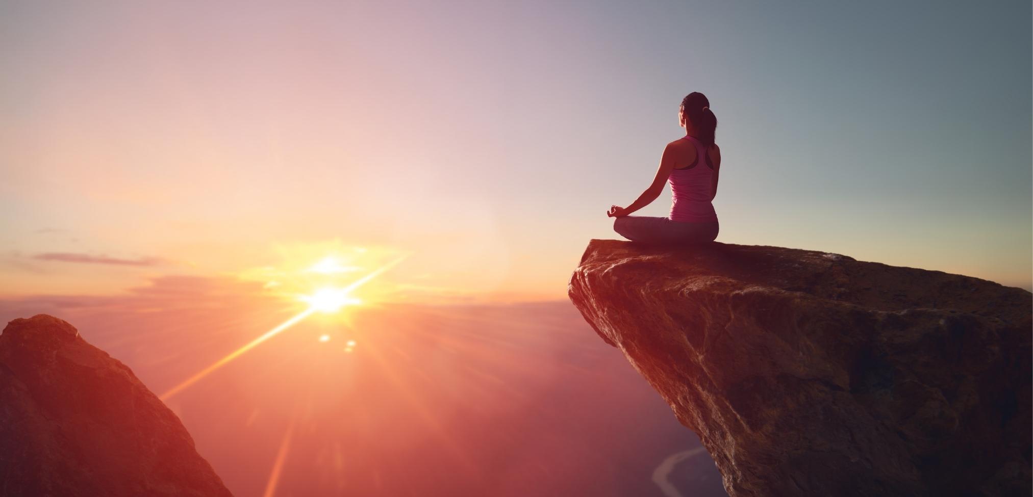 meditare in alto