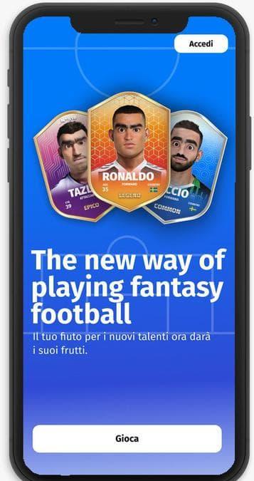 Arriva Ipermatch, l'app che unisce calcio e fintech