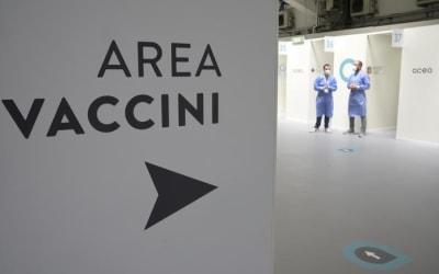 Covid: Italia sopra media Ue per persone vaccinate