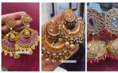 Artificial earrings by Innovation Jewelz !! Order on 7973749184 #artificialjewellery