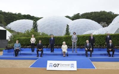 La Regina Elisabetta è la vera protagonista del G7