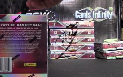 Sean's 2012/13 Panini Innovation Basketball Hobby Box Break