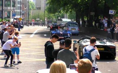 Supercars Accelerating, CRAZY SOUNDS – NOVITEC N-LARGO 812, Zonda, LaFerrari, Aventador,…