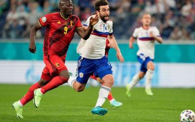 Belgio, Lukaku: 'Spero che Eriksen stia bene. Per me è stato difficile giocare, abbiamo avuto paura'