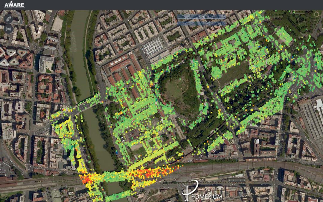 5G, satelliti e droni per la tutela del centro storico