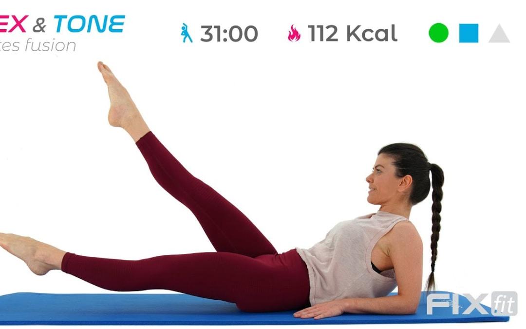 Allenamento Total Body (Focus Glutei) Con Esercizi Di Pilates