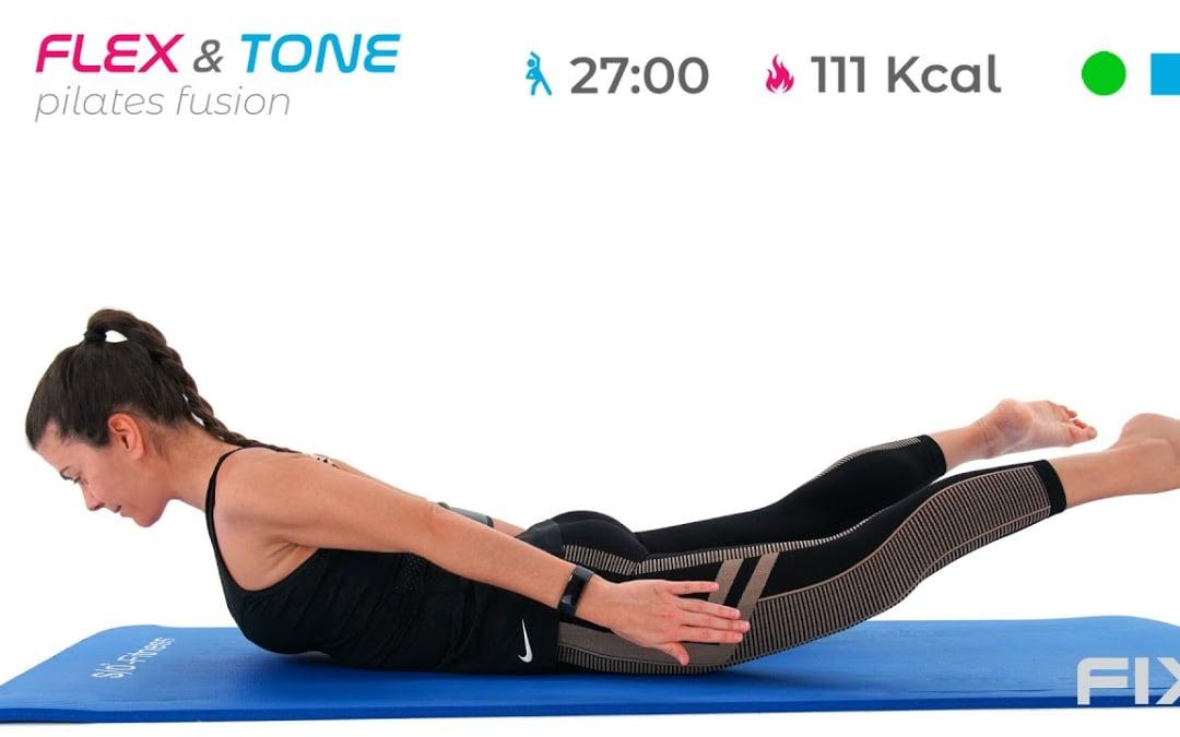 Pilates Fusion Con Focus Core e Schiena: Allenamento Avanzato