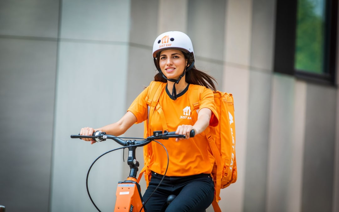 Just Eat assume a Roma oltre mille riders con il