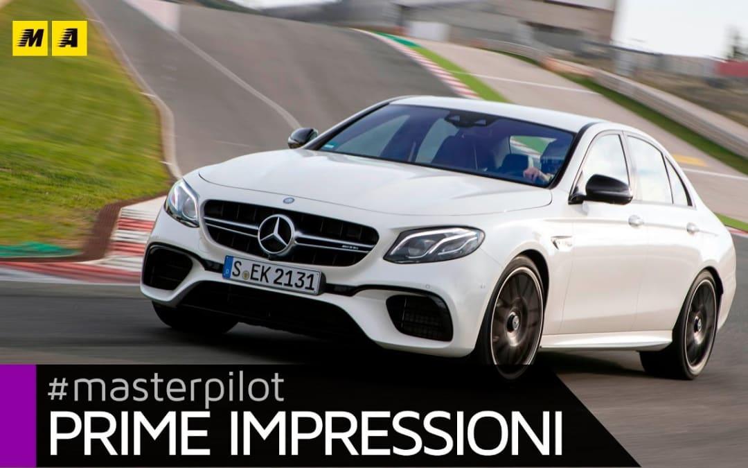 Mercedes AMG Classe E 63 S 4matic+ 612 CV   Primo test [ENGLISH SUB]