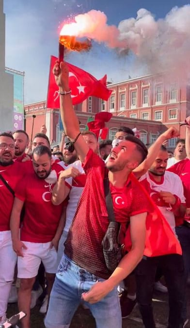 Europei: via ingressi all'Olimpico, turchi e azzurri insieme