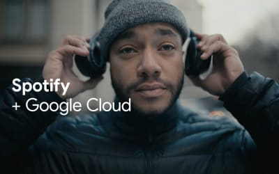 Spotify uses Google Cloud to unlock infinite capacity and faster