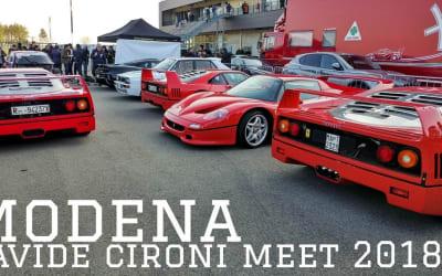 RADUNO Davide Cironi DRIVE EXPERIENCE 2018 | Modena