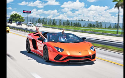 Lamborghini Aventador S + Huracan Performante + Crazy Onboard Ride,Tunnel,Accelerations BEST SOUNDS!