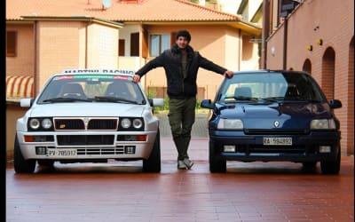 Backstage test Clio Williams – Davide Cironi Drive Experience