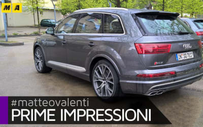 Audi SQ7 V8 – Prime impressioni