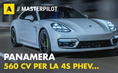 Porsche Panamera 4S E-Hybrid | 560 CV in salsa Sport Turismo (50 km plugin)