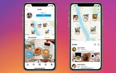 Instagram lancia la funzione 'Cerca sulla mappa'