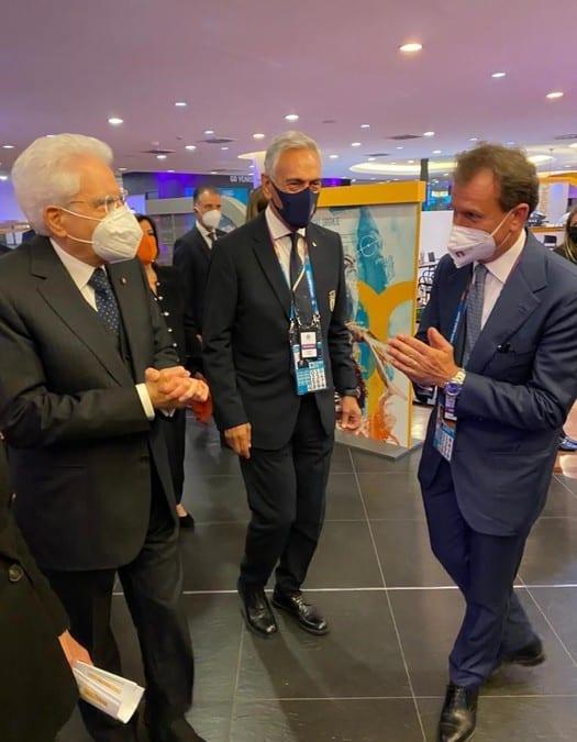 Europei: Italia-Turchia, Mattarella arrivato all'Olimpico