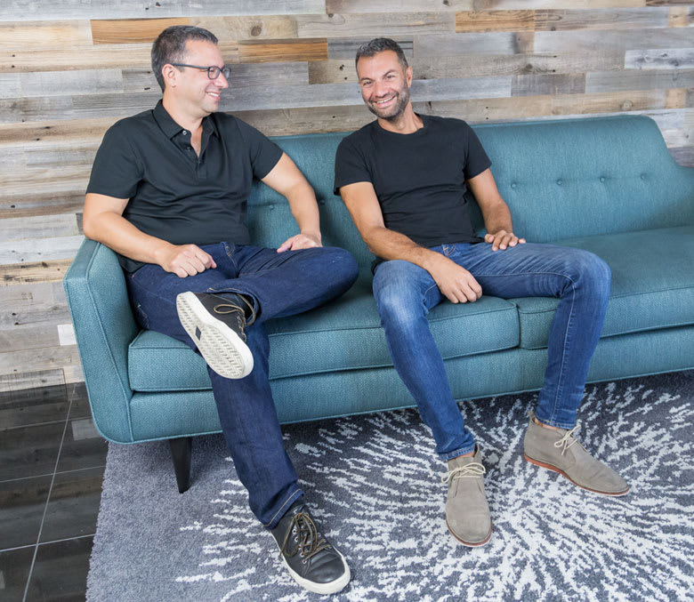 TripActions Founders - Ariel Cohen and Ilan Twig