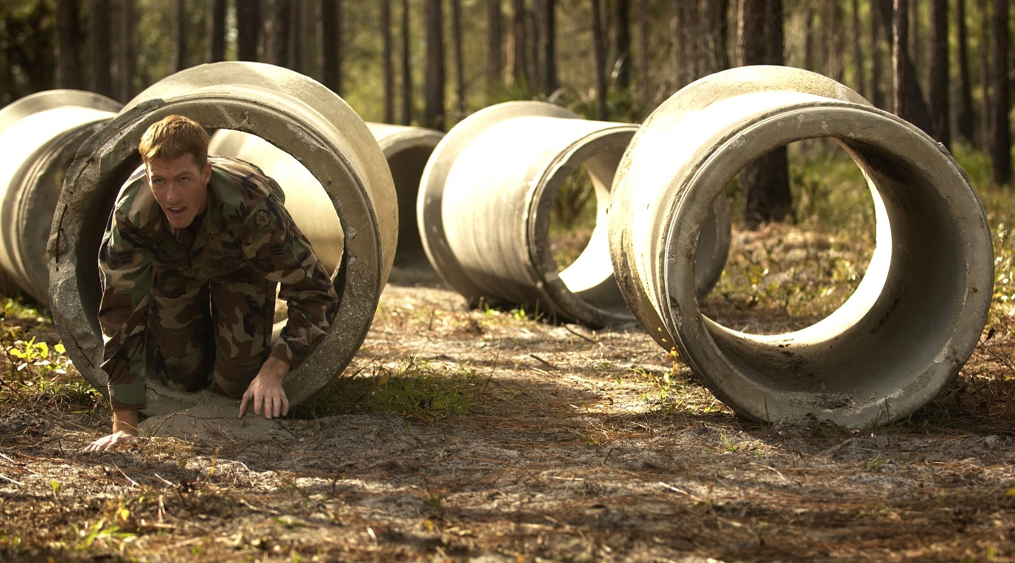 Chinese military assault course - Xmudder. Image