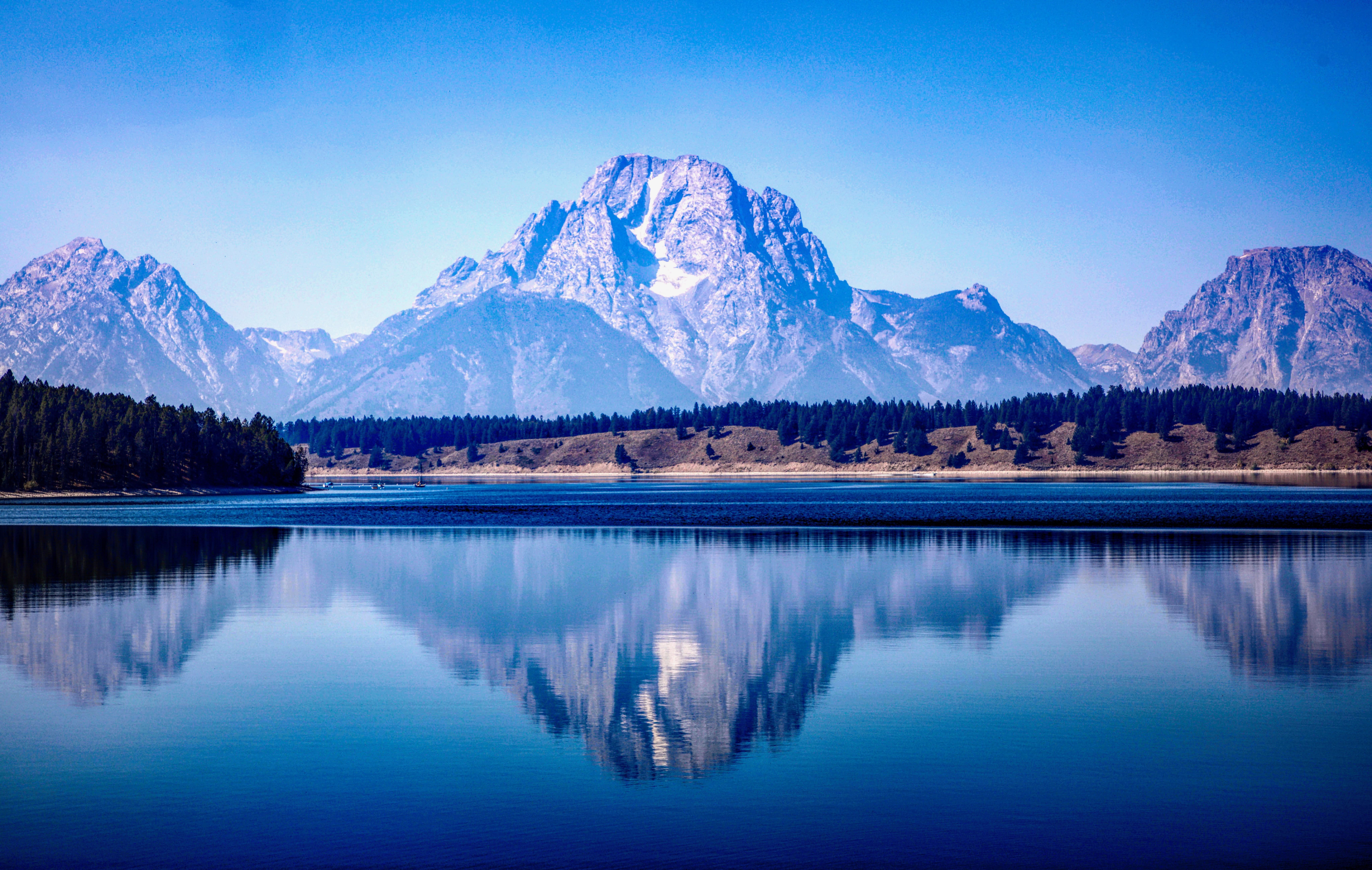 Mountains at Grand Teton, Wyoming