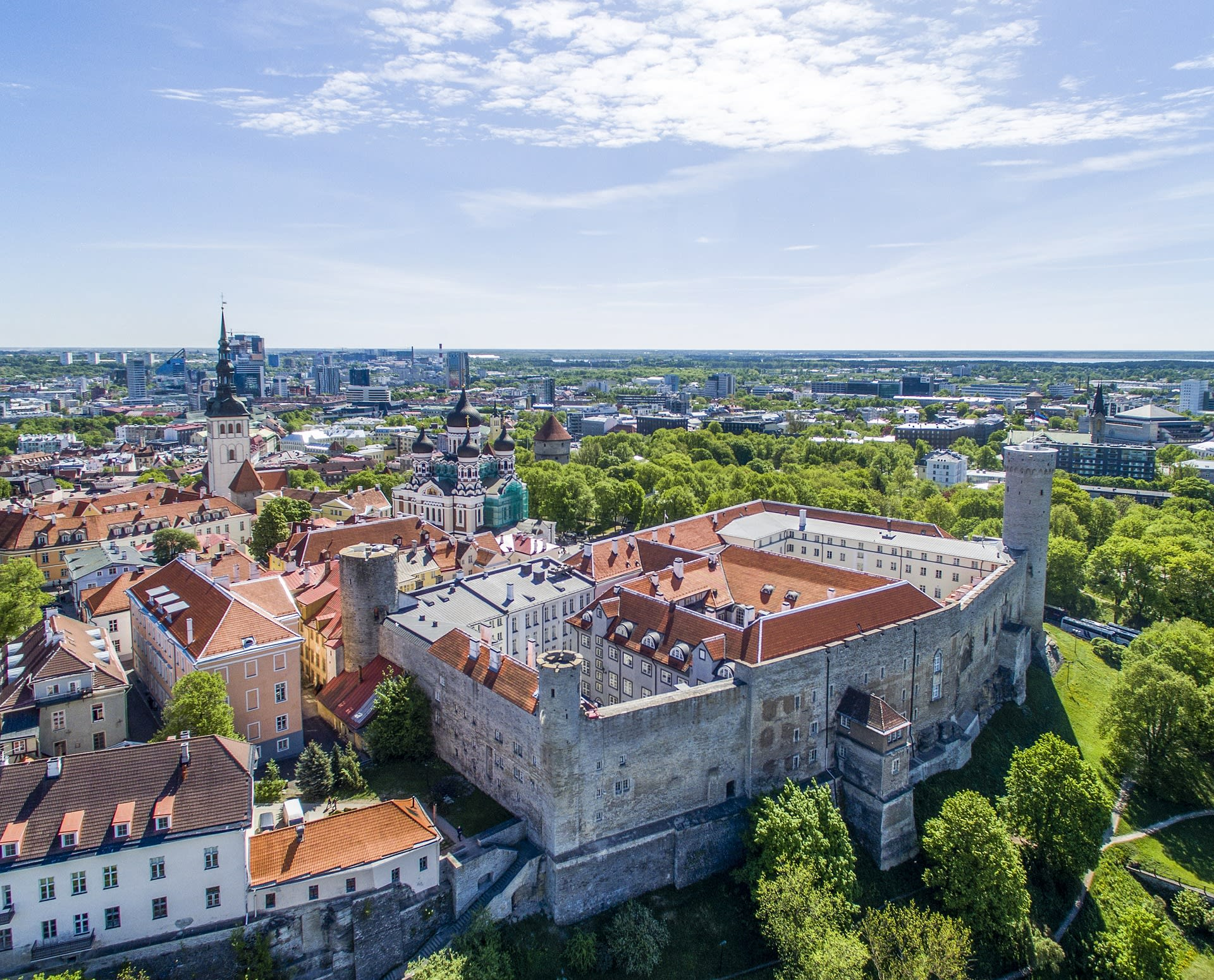 Castle in Tallinn, Estonia