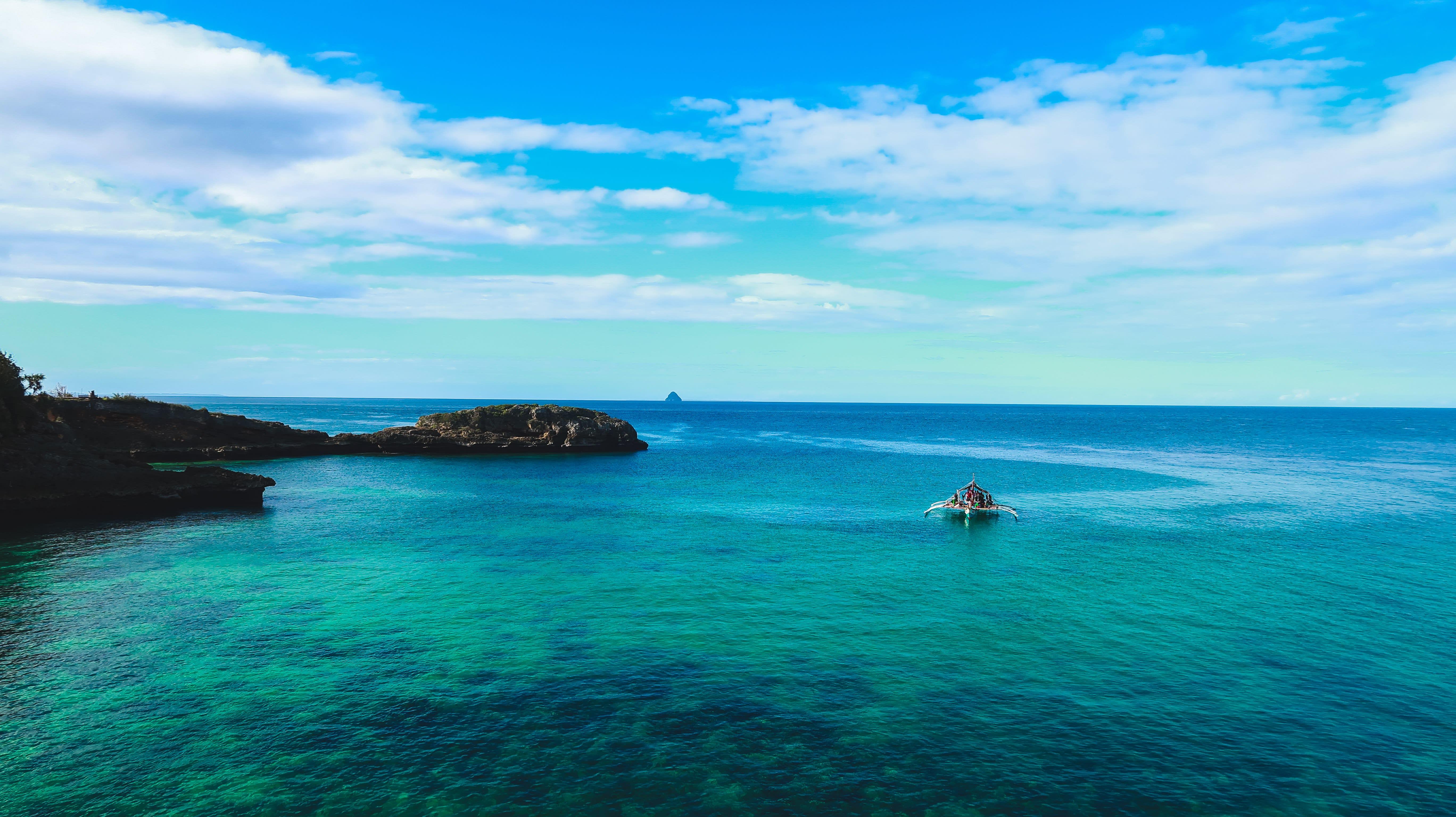 Cebu blue sea