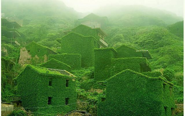 Shengsi Island abandonded fishing villages