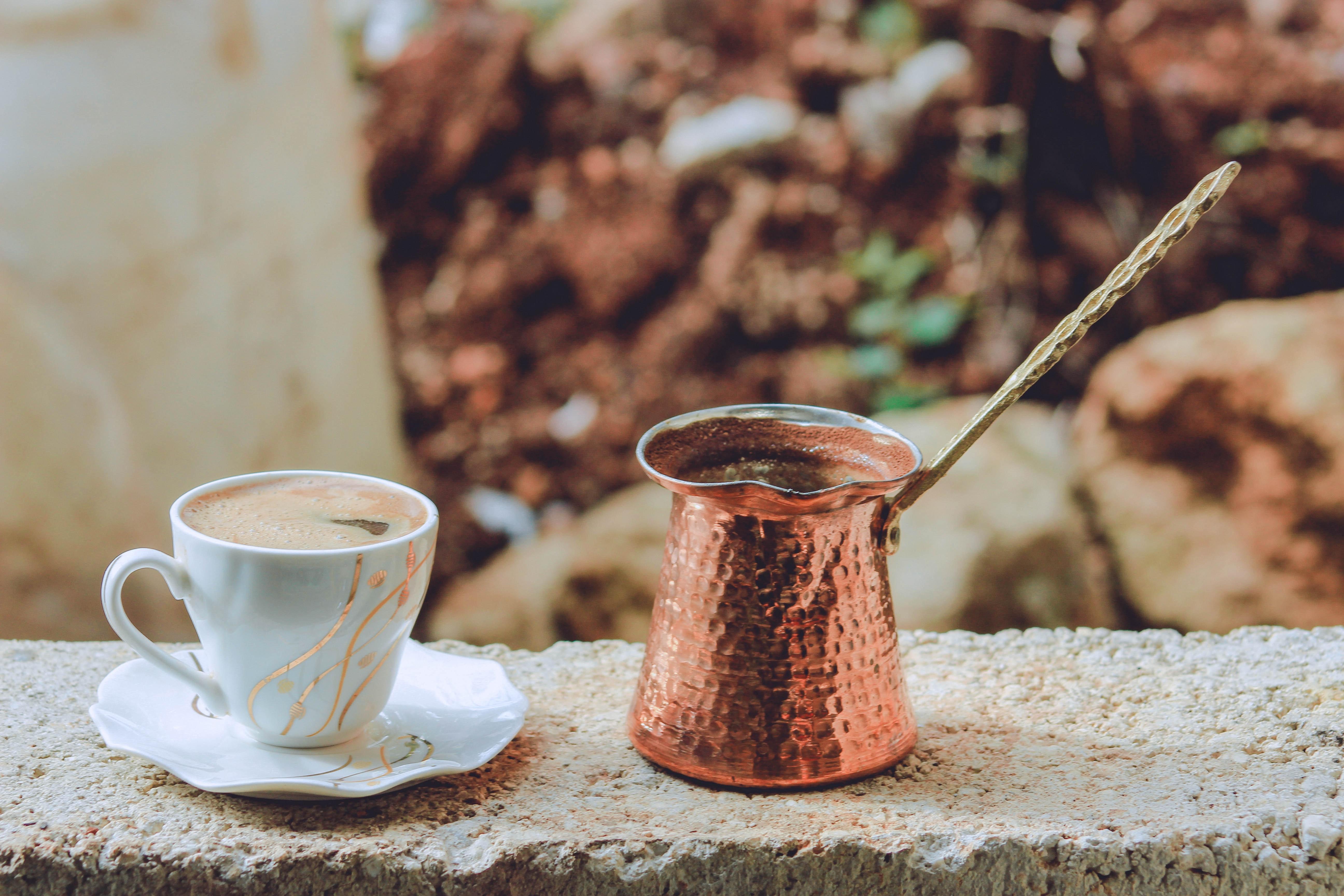 Pot of Turkish Tea