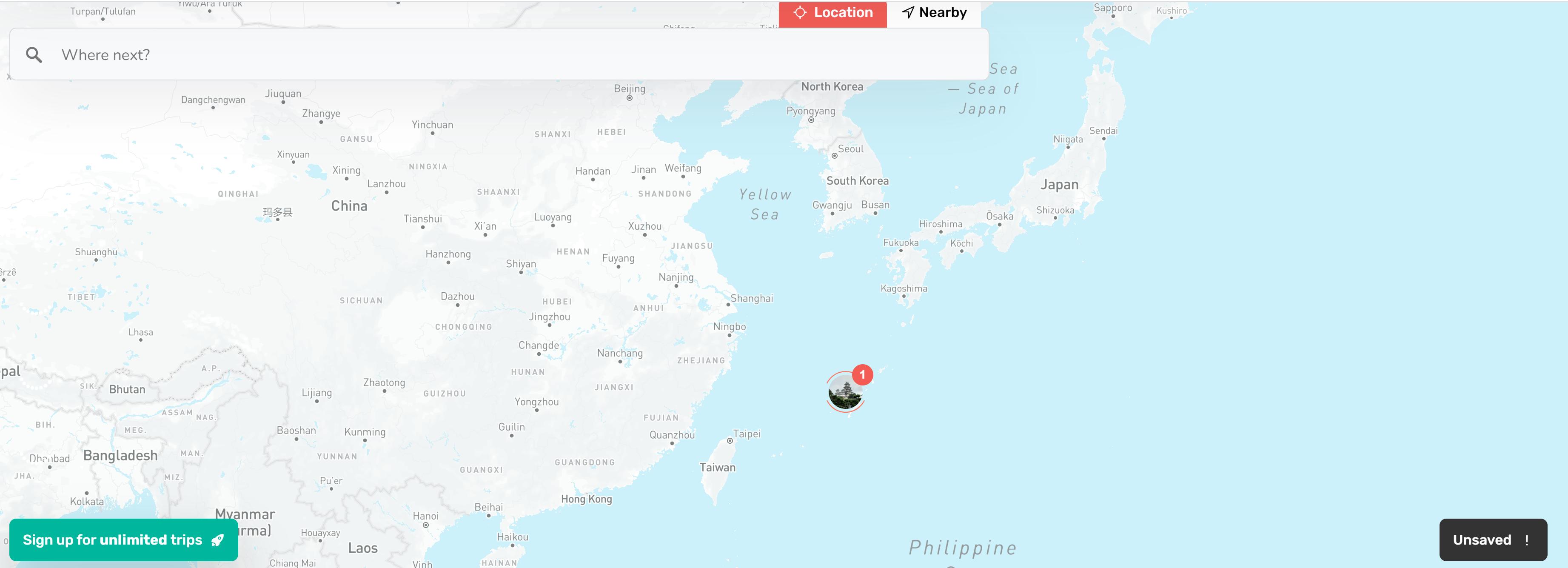 Okinawa, Japan. Tripapt Travel planner