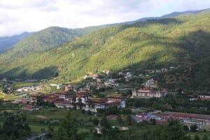 Mystical Bhutan Holidays; flight from Delhi
