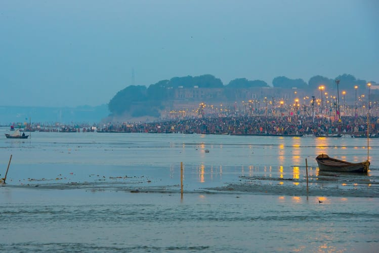 Spirit of the Kumbh Bathing Tour with Super Luxury Tent