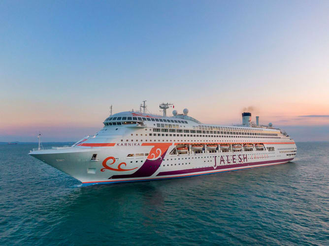 Jalesh Cruise Mumbai to Goa in Luxury