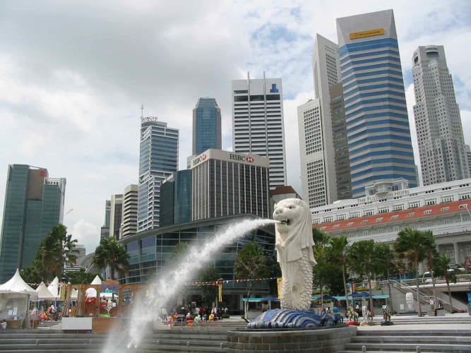 Astonishing Singapore - with Universal Studio and Sentosa Island