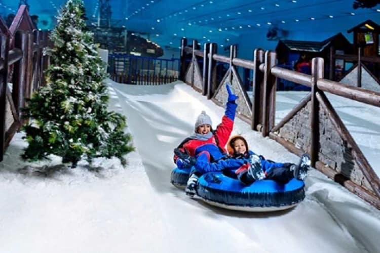 Abu Dhabi with Dubai; Ferrari World, Snow Park, Aquaventure & More