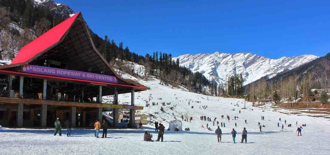 Romantic Manali 4 Days Stay with Volvo Ex-Delhi