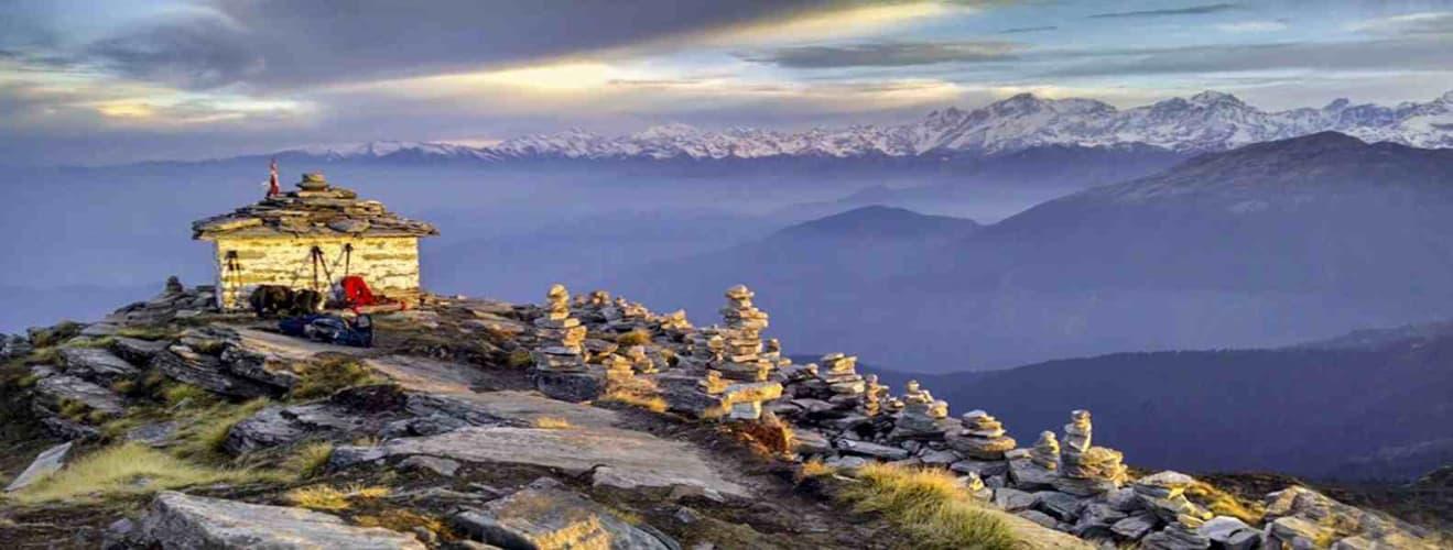 The Trek to Chopta - Chandrashila (ex-Ukhimath)