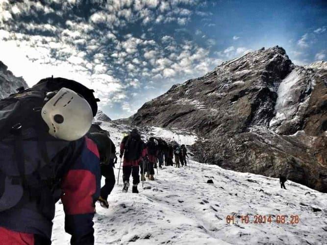 The Hampta Snow Trek