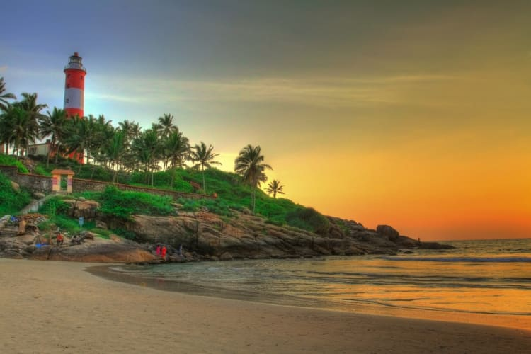 Kerala Delight With Kovalam By Air - WOW Deals