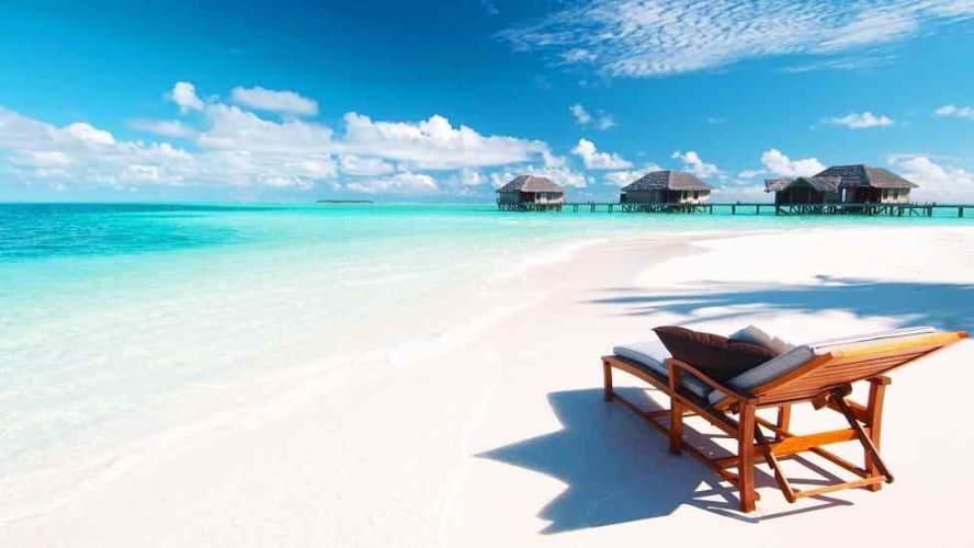 Paradise Island Resort Water Villa Maldives Honeymoon