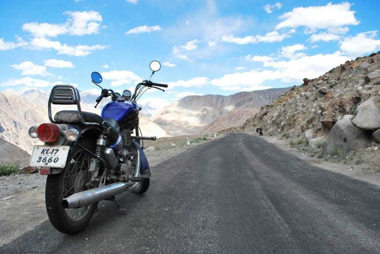 Bike Ride to the Top of the World - Ladakh