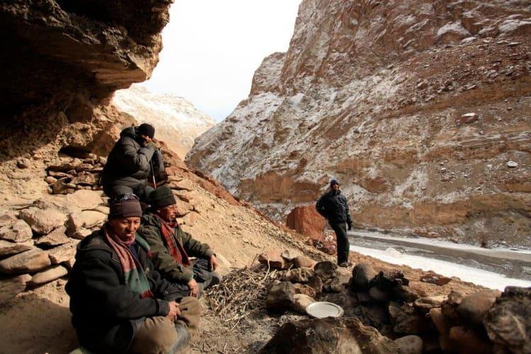 The Chadar Trek - A Walk over a Frozen River