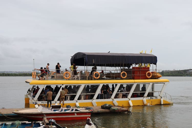 The Adventure Boat Party Goa