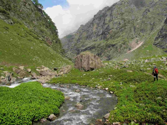 Hampta Pass Trek with Camping at Chandratal - Trekkers